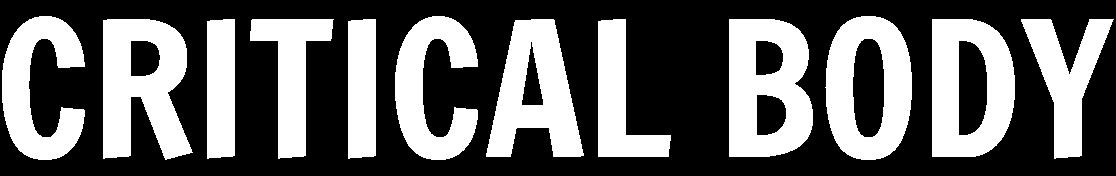 The Critical Body logo