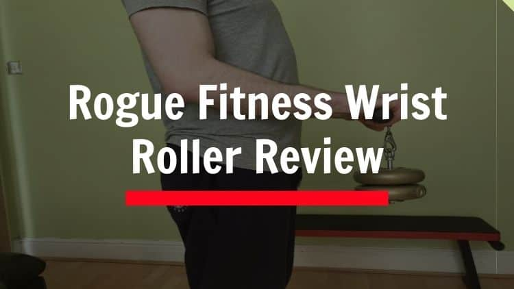 The Rogue wrist roller in action